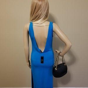 NWT - BEBE Blue Dress